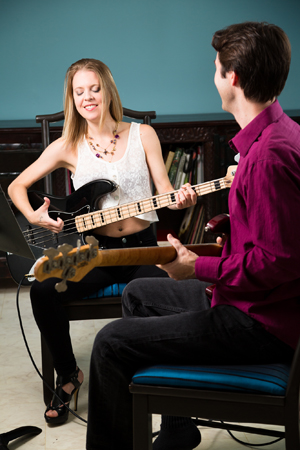 Bass Guitar Lessons in Orange County
