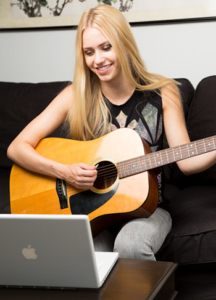 Online guitar lessons Orange County