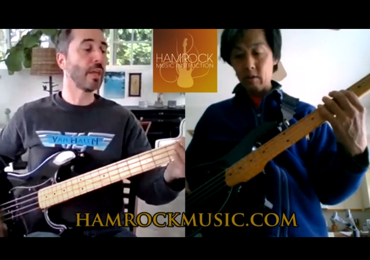 Online bass lessons
